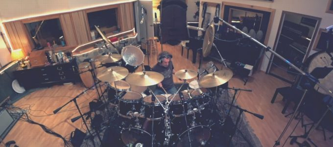 Simon Phillips Drumsolo Slilder